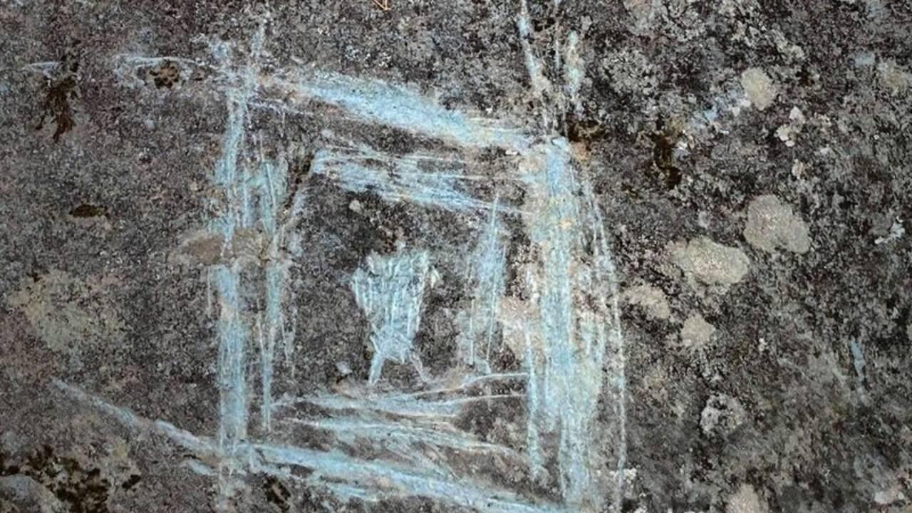 En Géorgie, des vandales ont dégradé des pétroglyphes amérindiens de plus de 1000 ans