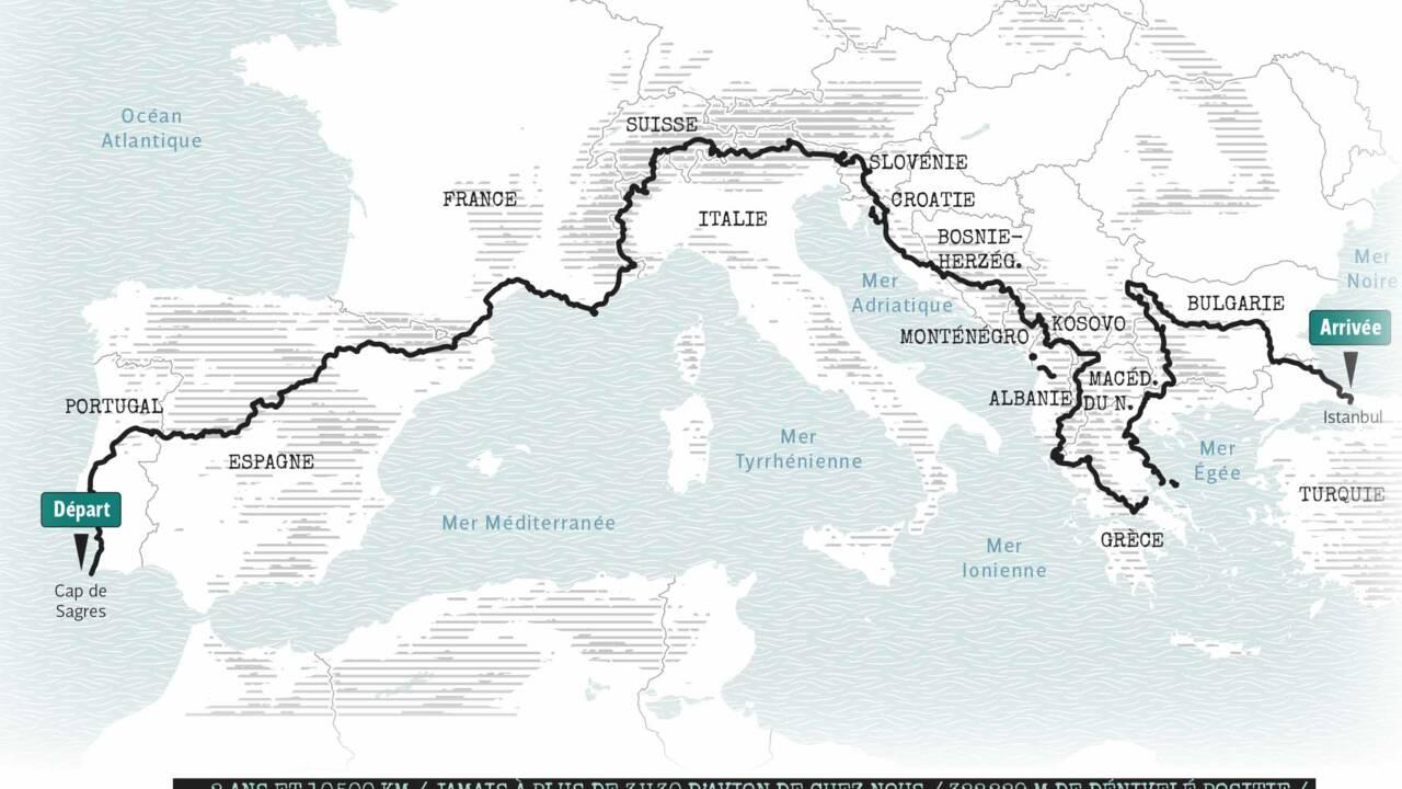Du Portugal à la Turquie, ils ont traversé l'Europe à pied