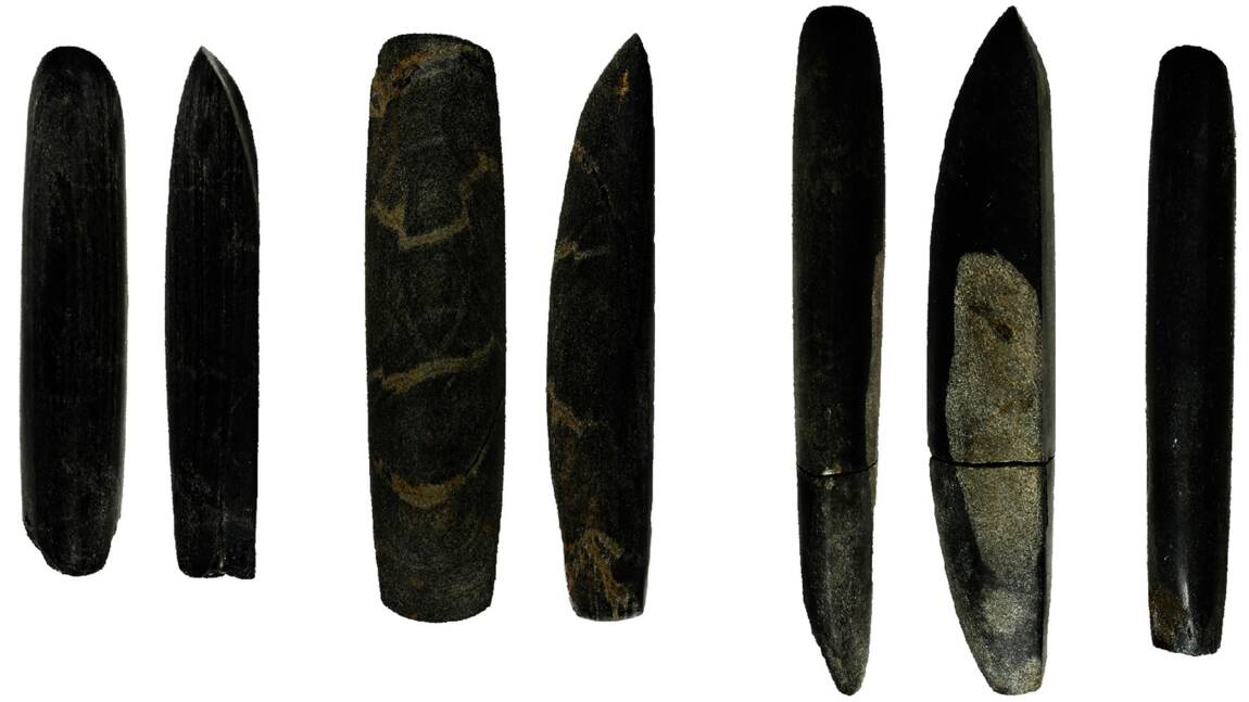 Des objets funéraires du néolithique témoignent de la division sexuelle des tâches dès les débuts de l'agriculture