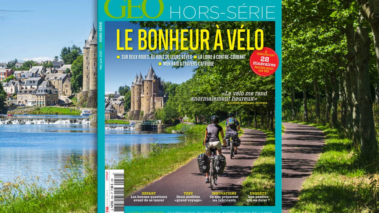 Le bonheur à vélo au sommaire du nouveau hors-série GEO