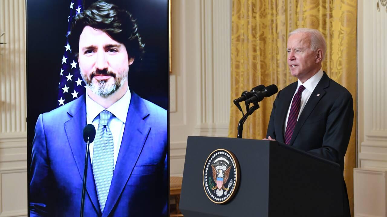 """Sommet sur le climat: Biden va devoir montrer qu'il est """"sérieux"""" (Trudeau à l'AFP)"""