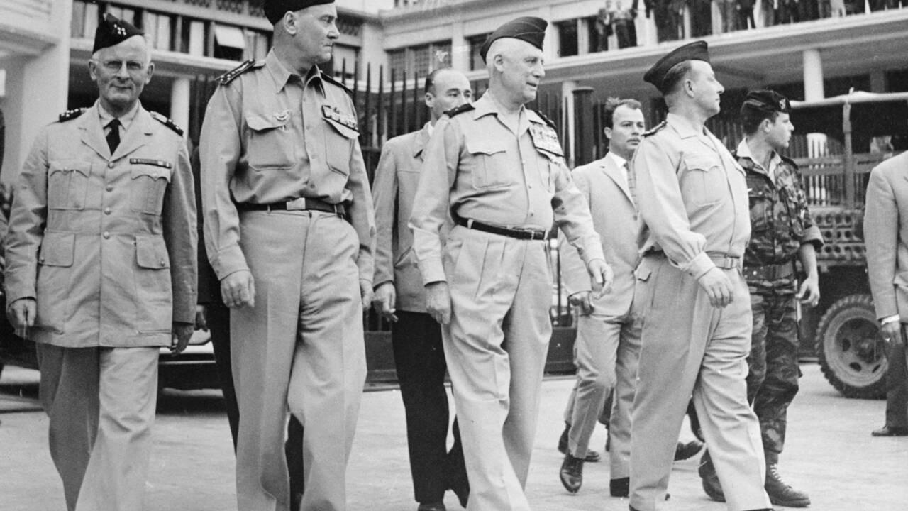 Algérie : le putsch des généraux du 21 avril 1961, un coup d'Etat militaire manqué contre la politique de de Gaulle