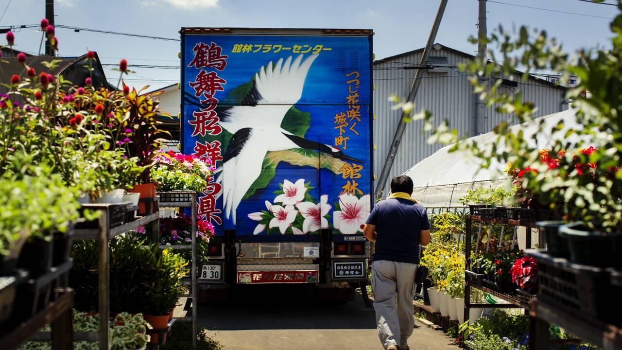 Dekotora : néons, dragons… Ces flamboyants camions des routiers artistes du Japon