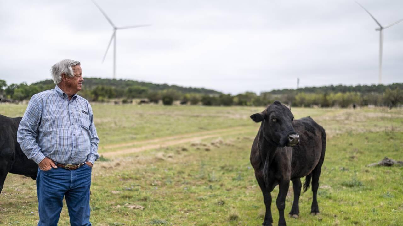 Au Texas, Bobby remplace ses puits de pétrole par des éoliennes