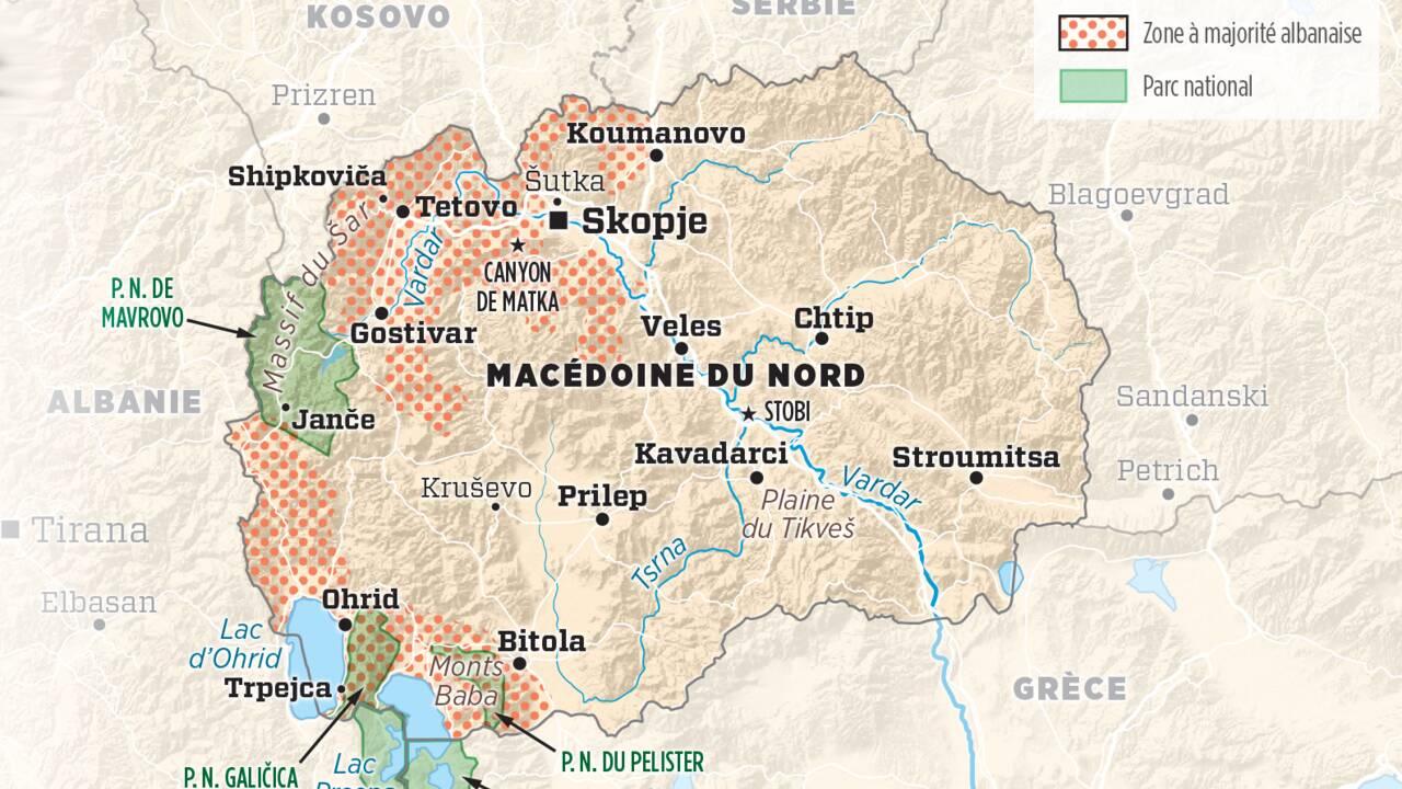 Macédoine du Nord : mais quel est ce petit pays des Balkans, baptisé en 2019 ?