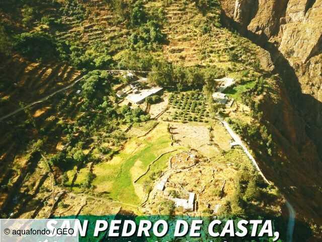 """Au Pérou, une ONG """"sème de l'eau"""" grâce à des canaux pré-hispaniques"""