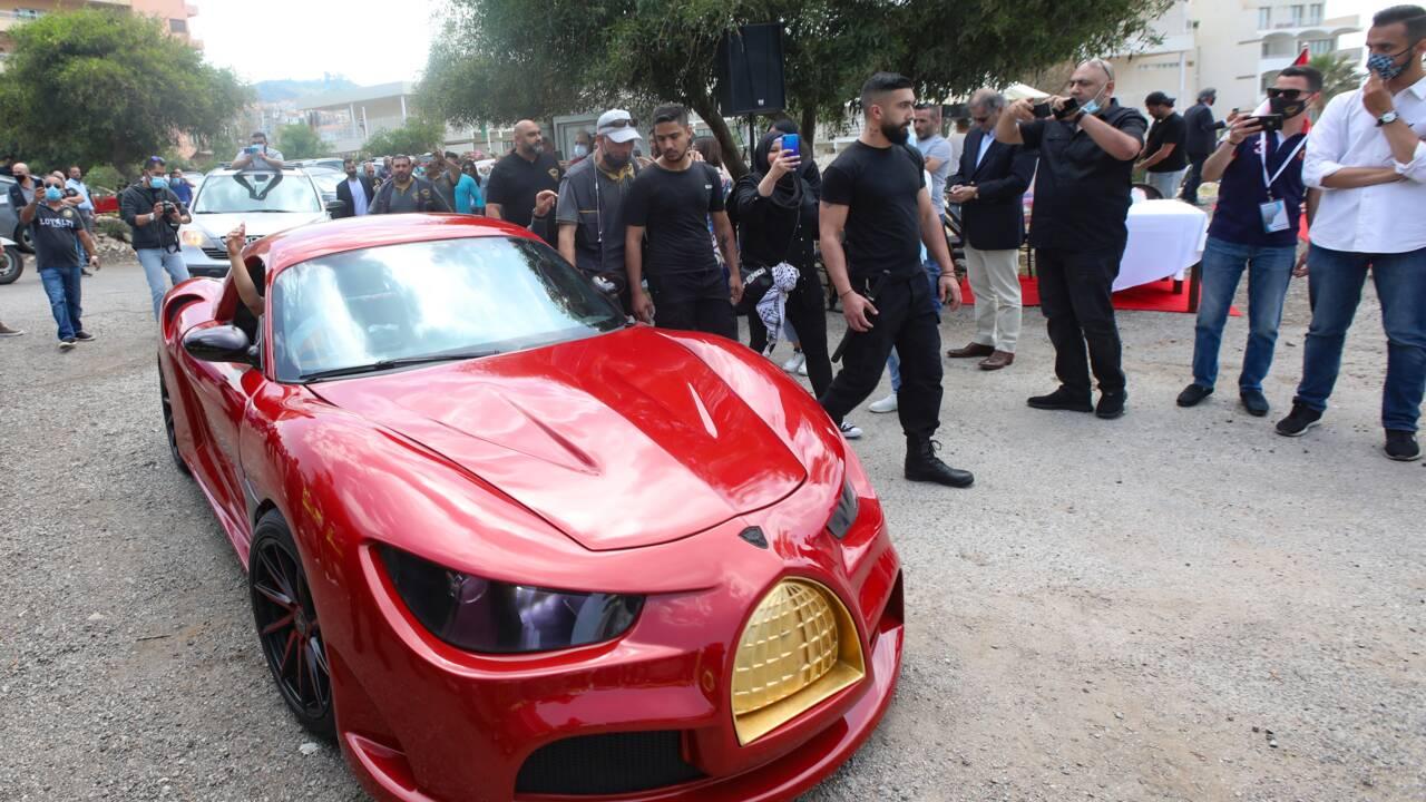 """Quelle crise de courant? Au Liban, une première voiture """"100%"""" électrique!"""