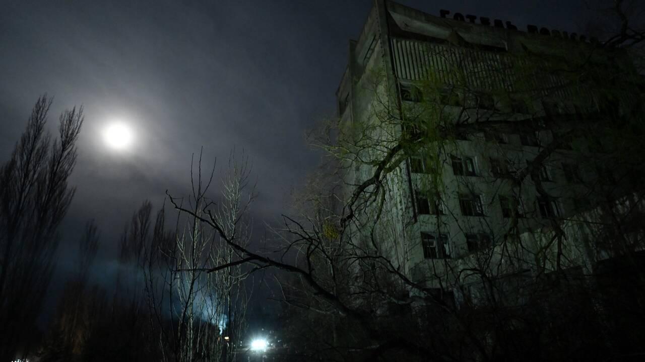 L' Ukraine commémore la catastrophe de Tchernobyl, 35 ans après