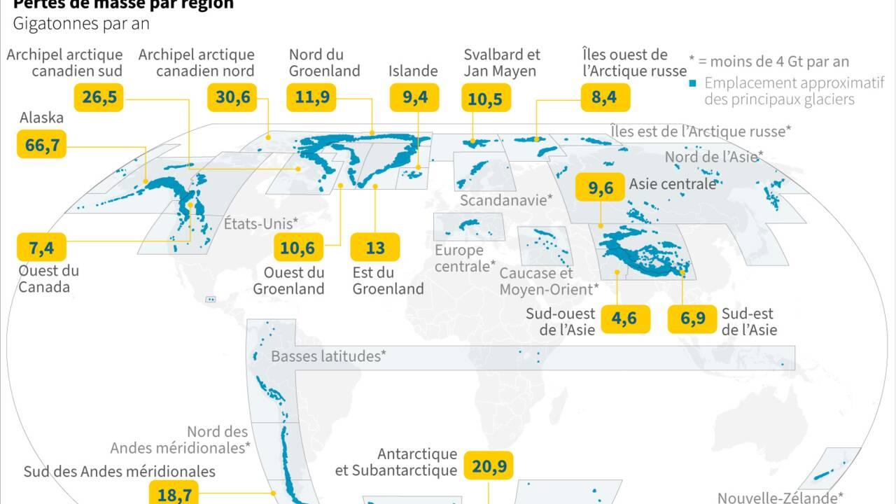 Record de chaleur sur l'Antarctique de 18,3 degrés Celsius le 6 février 2020