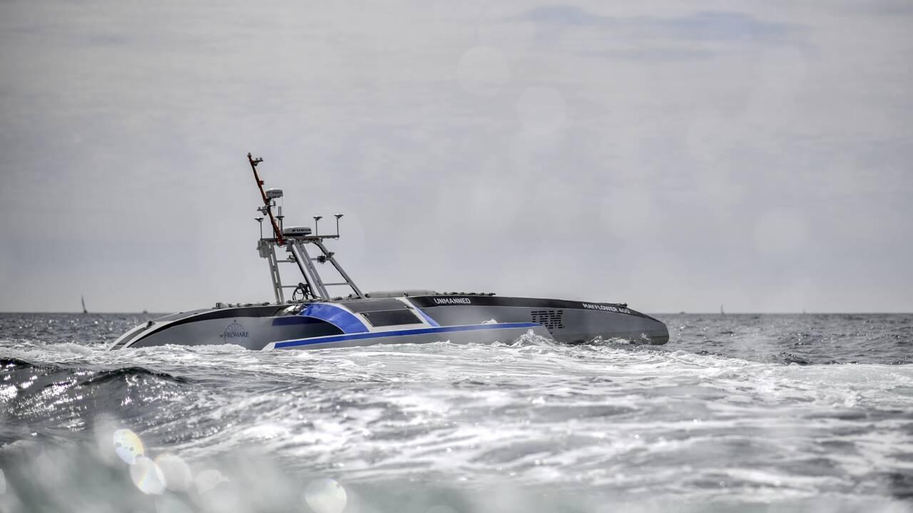 Mayflower 400 : le premier bateau intelligent, s'attaque à l'Atlantique sans capitaine