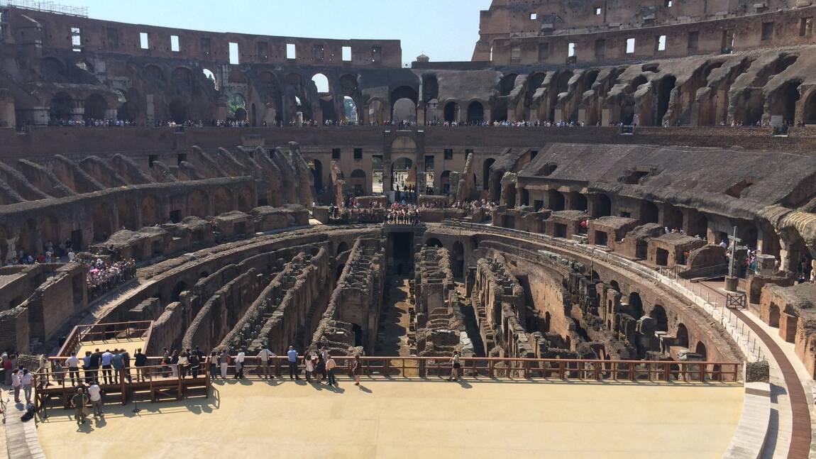 Rome : un projet pour reconstituer l'arène des combats du Colisée