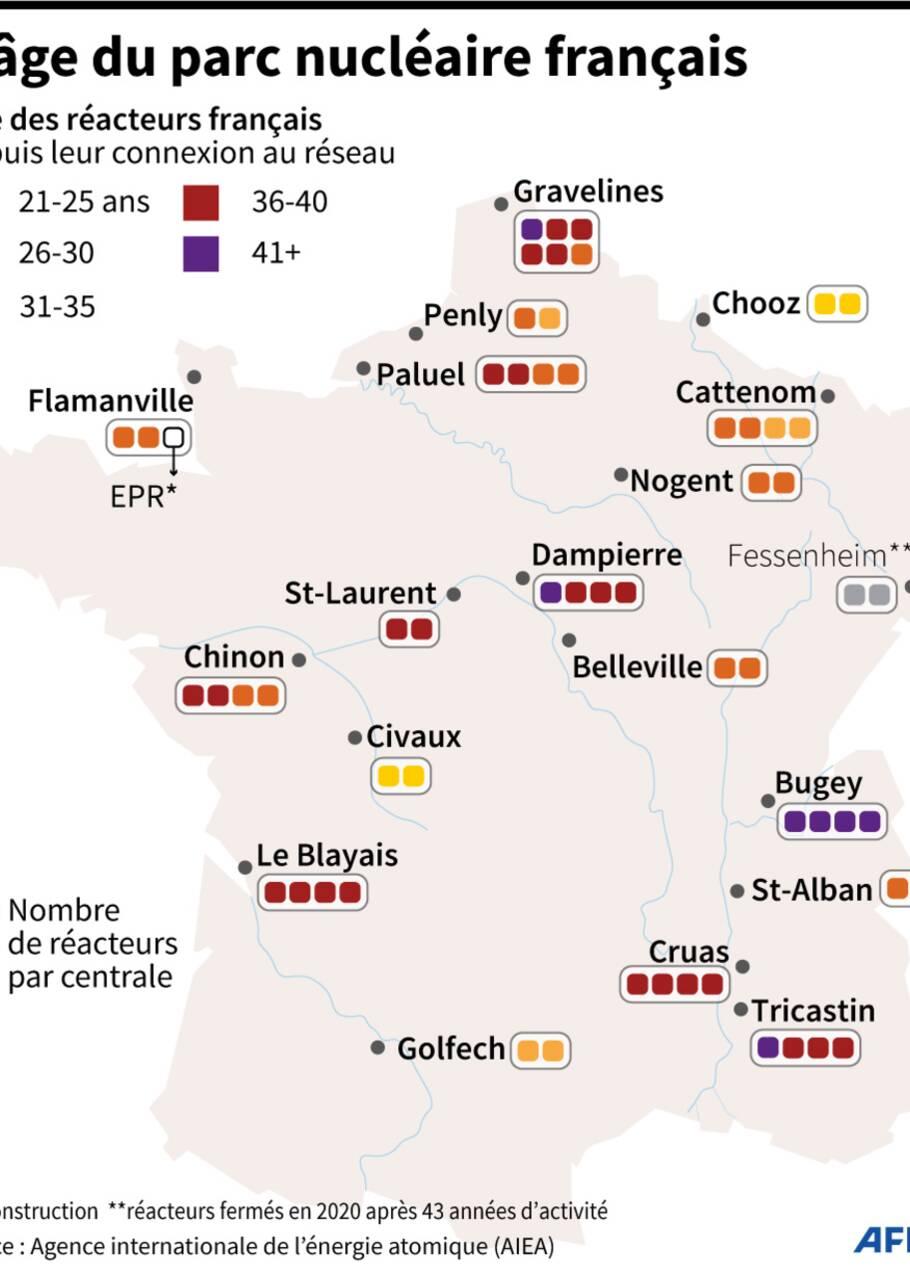 Les Français pas assez préparés à un accident nucléaire, selon des acteurs locaux