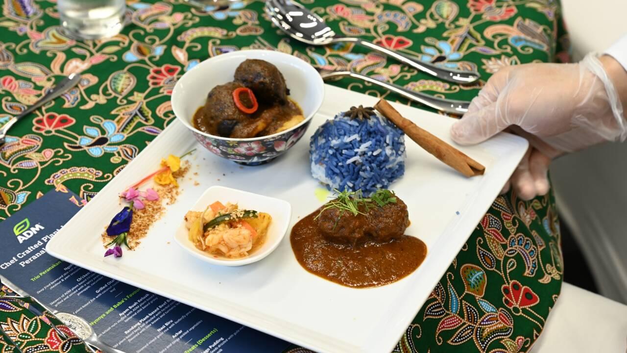 Satay végétarien: un laboratoire expérimente des plats asiatiques sans viande