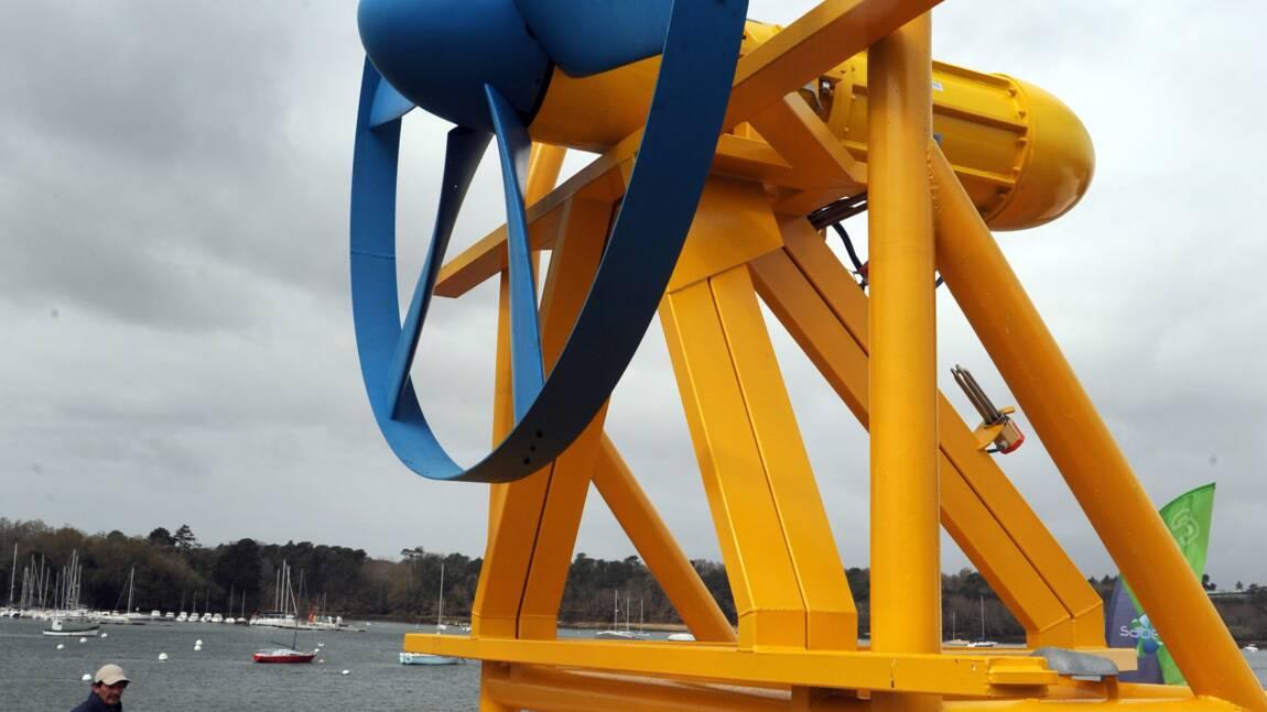 Deux hydroliennes immergées dans le Golfe du Morbihan d'ici fin 2022