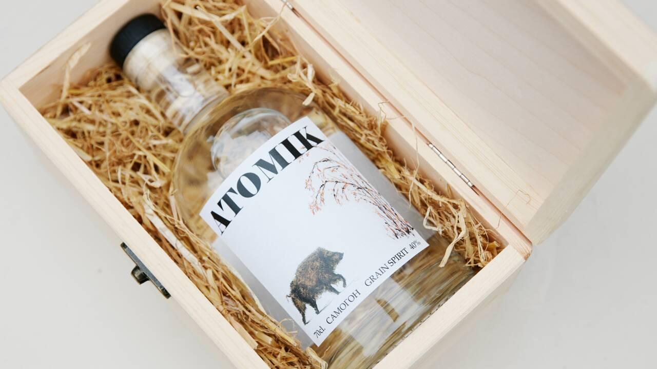Des scientifiques fabriquent de la vodka à partir de fruits cultivés autour de Tchernobyl