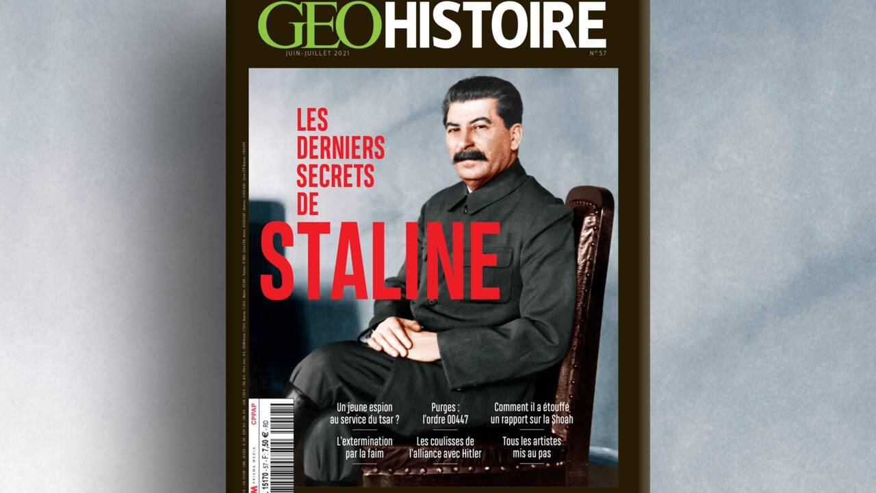 Les derniers secrets de Staline au sommaire du nouveau numéro de GEO Histoire