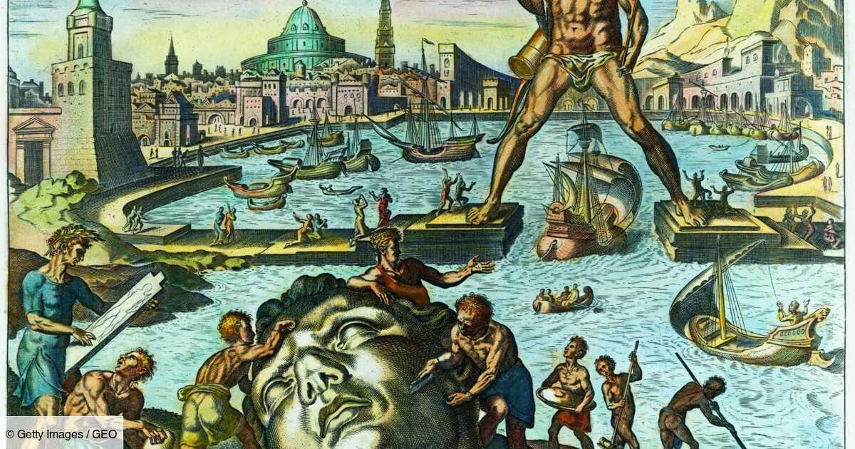 Colosse de Rhodes : l'histoire de la sixième merveille du monde