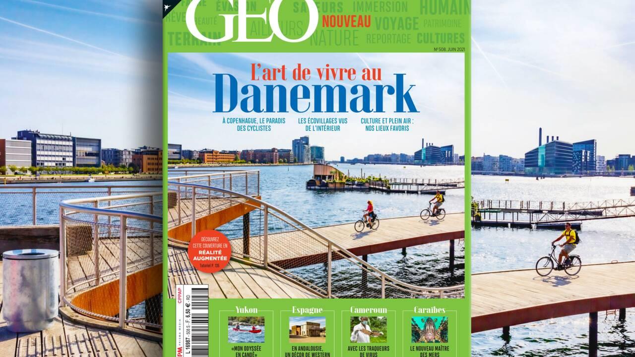 L'art de vivre au Danemark au sommaire de la nouvelle formule du magazine GEO