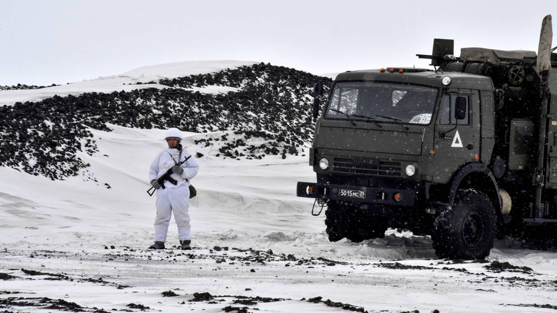 En Arctique, la Russie affiche sa base militaire modèle face à l'Otan