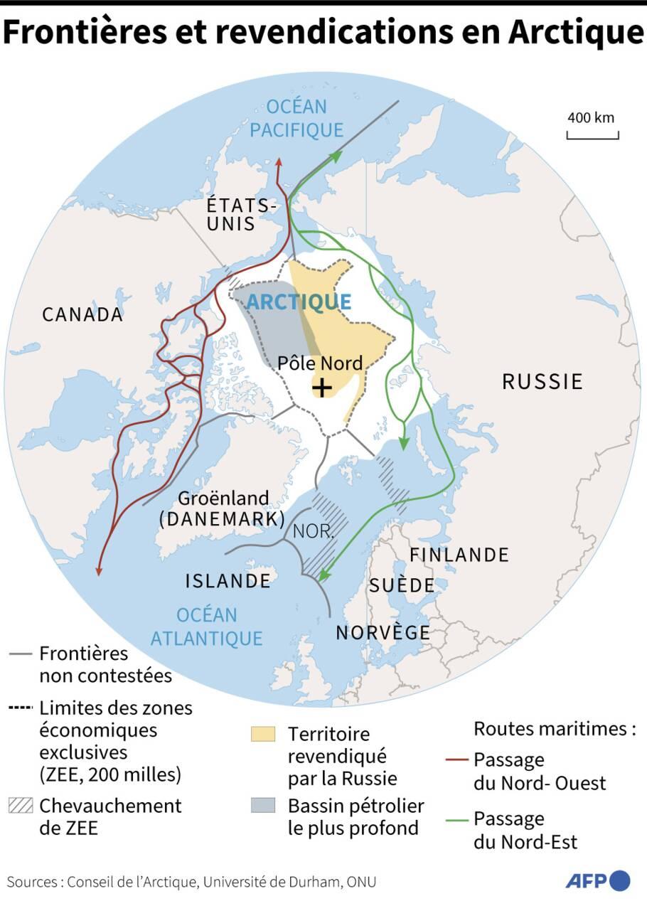 Arctique: première réunion américano-russe sous tension avant un sommet Biden-Poutine