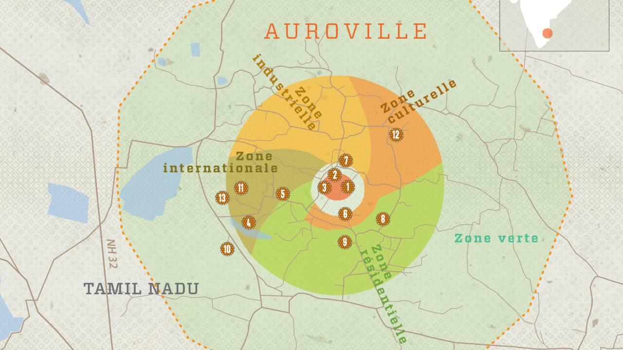 Auroville : 13 lieux incontournables autour du banian sacré de cette cité utopique en Inde