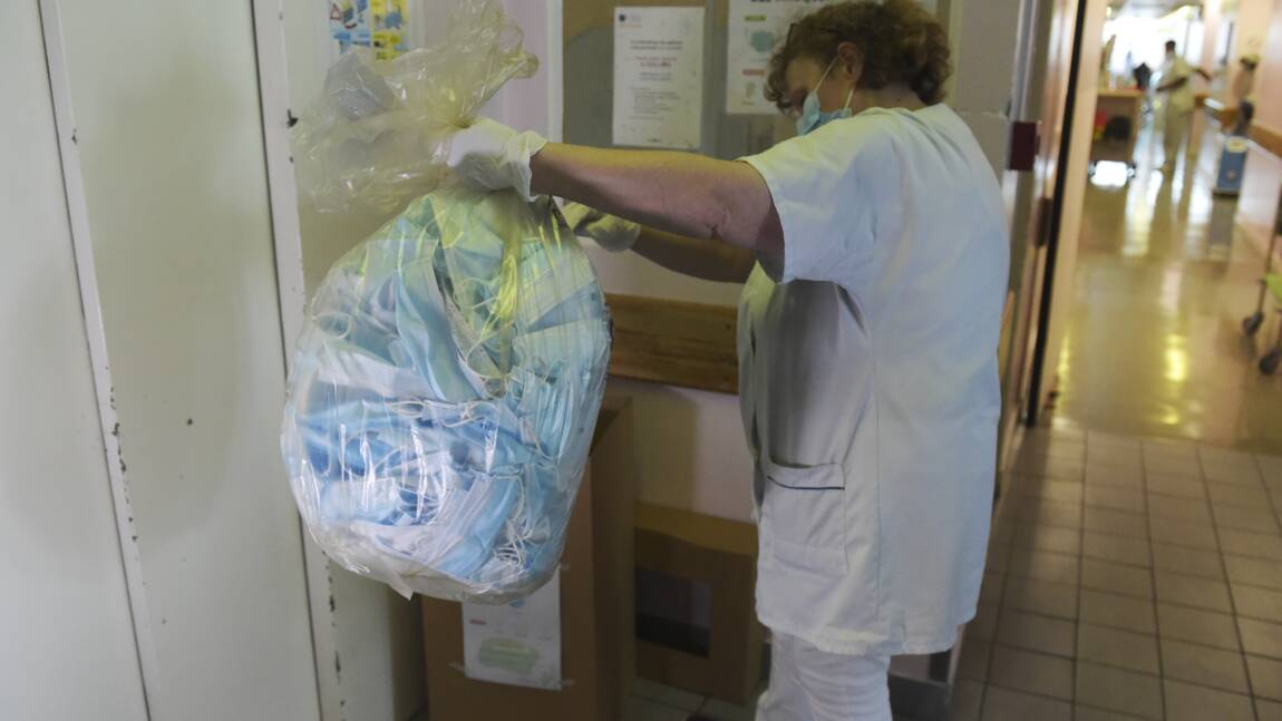 Le parcours d'un masque recyclé, des hôpitaux de Paris à l'industrie automobile