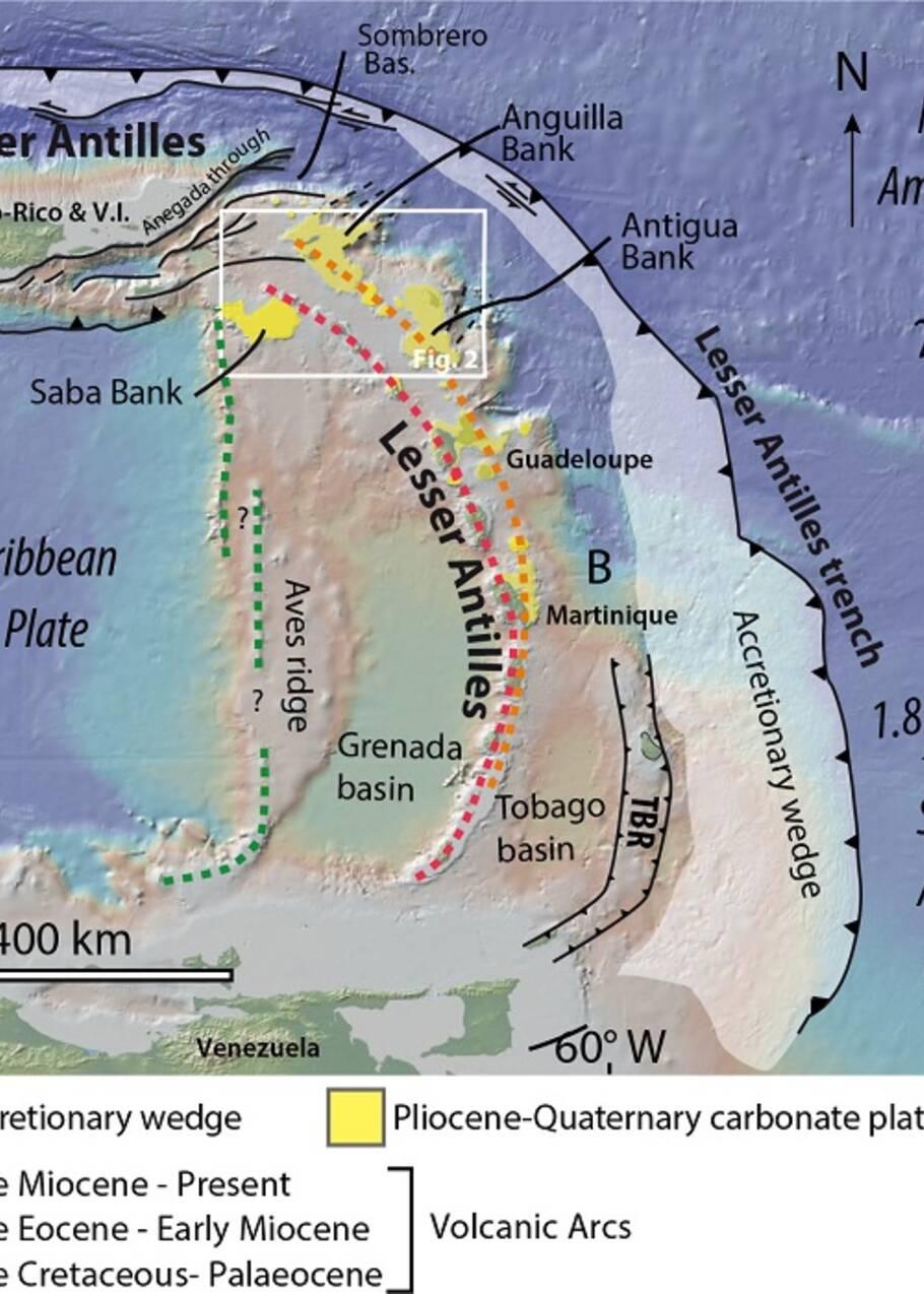Caraïbes : quand des îles géantes étaient englouties dans les Antilles