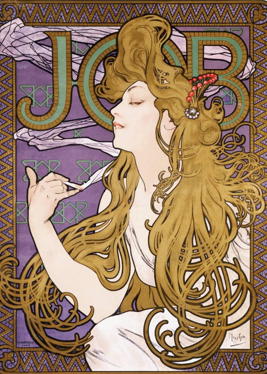 Alphonse Mucha, affichiste de l'Art nouveau et artiste engagé