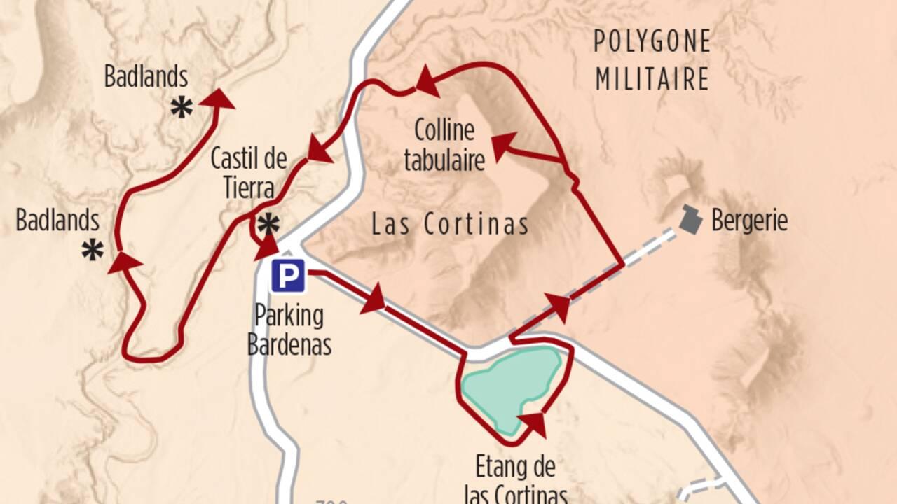 Itinéraires de randonnée : trois boucles pour profiter des Bardenas Reales, Far West espagnol