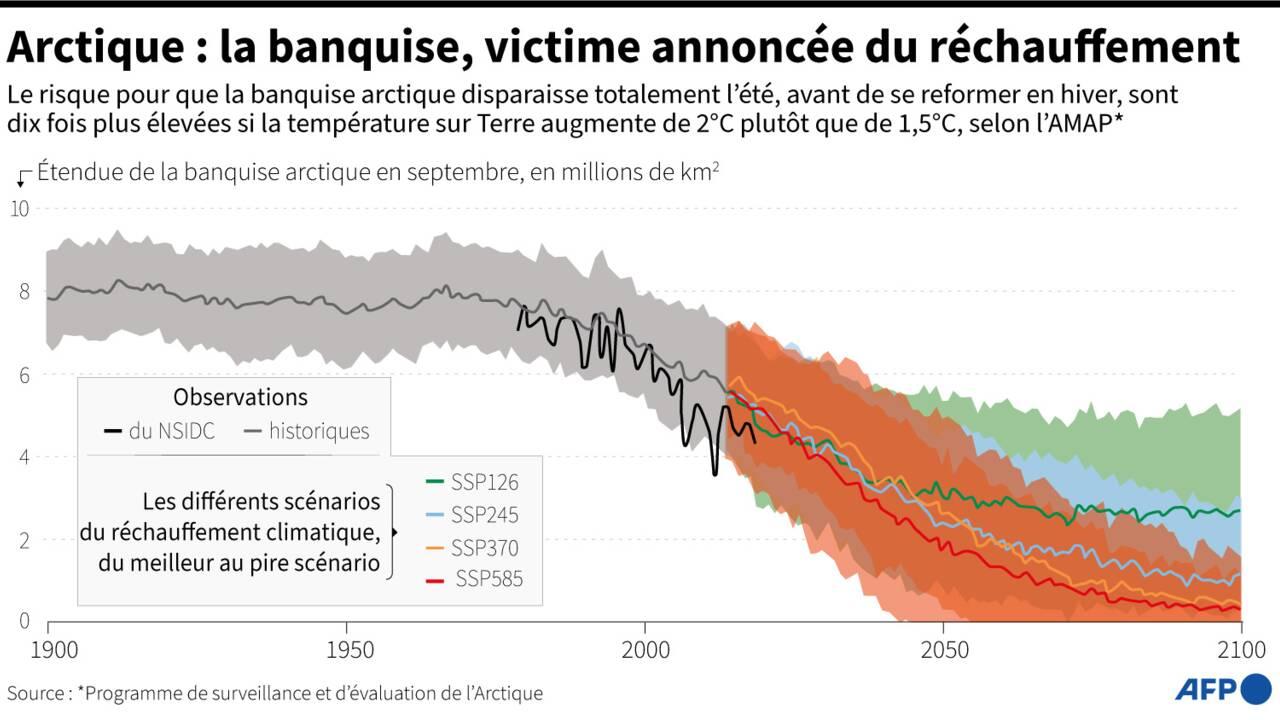 Le carbone noir, fléau climatique pour l'Arctique