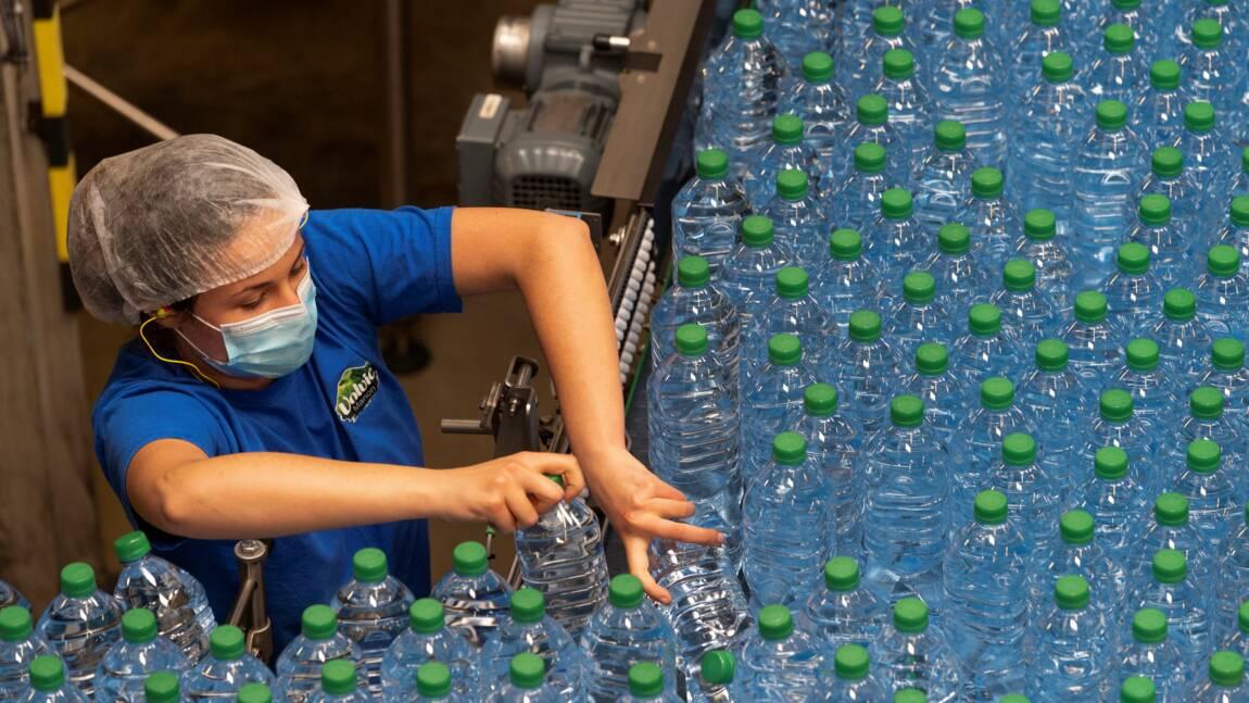 A Volvic, la raréfaction de l'eau est une source d'inquiétudes