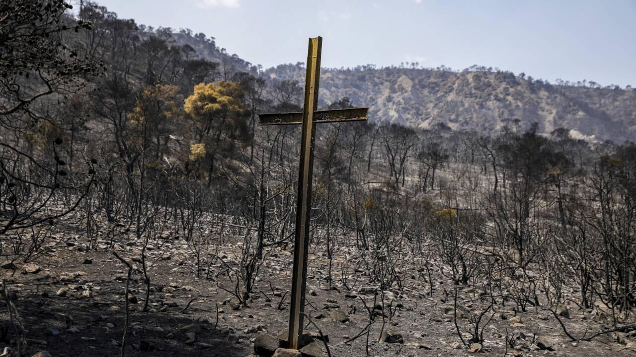 Grèce: l'incendie de Geraneia en passe d'être totalement maîtrisé