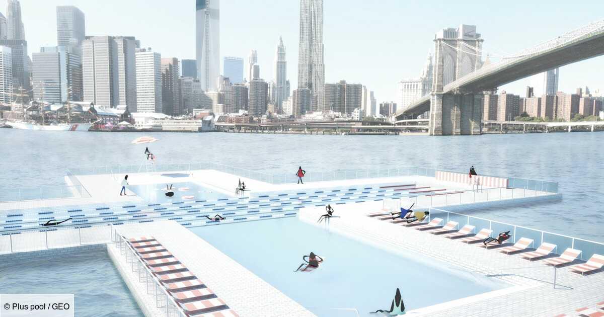 New York : Une piscine géante flottante bientôt construite dans l'East River
