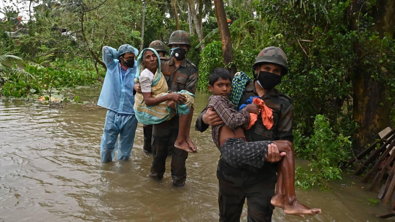 Inde: le cyclone Yaas frappe les côtes orientales, au moins quatre morts