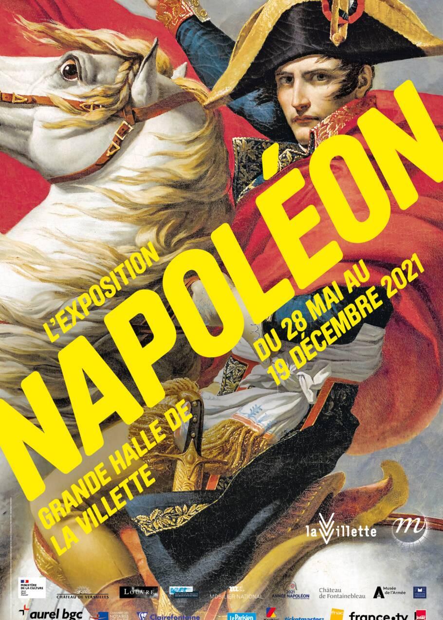 Napoléon Bonaparte au coeur d'une exposition exceptionnelle à la Grande Halle de la Villette à Paris