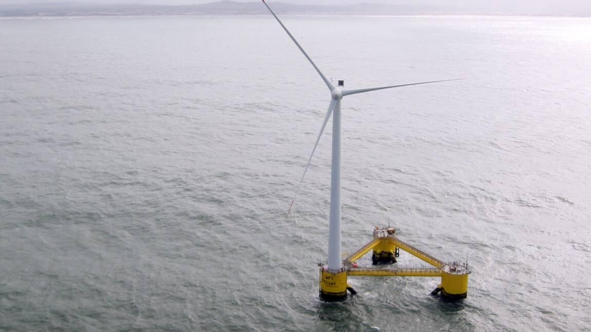 Belle-Île: les pécheurs des Pays de la Loire opposés au projet de parc éolien flottant