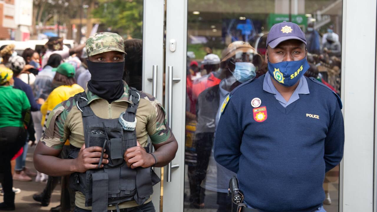 Afrique du Sud : les agents de sécurité privée, omniprésents dans Johannesburg la dangereuse