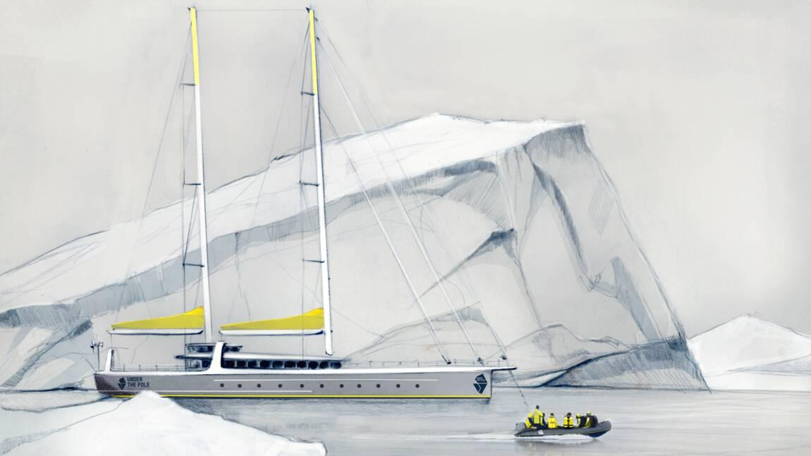 """Le Why Not, futur voilier des expéditions scientifiques """"Under The Pole"""" dédié à la plongée profonde"""