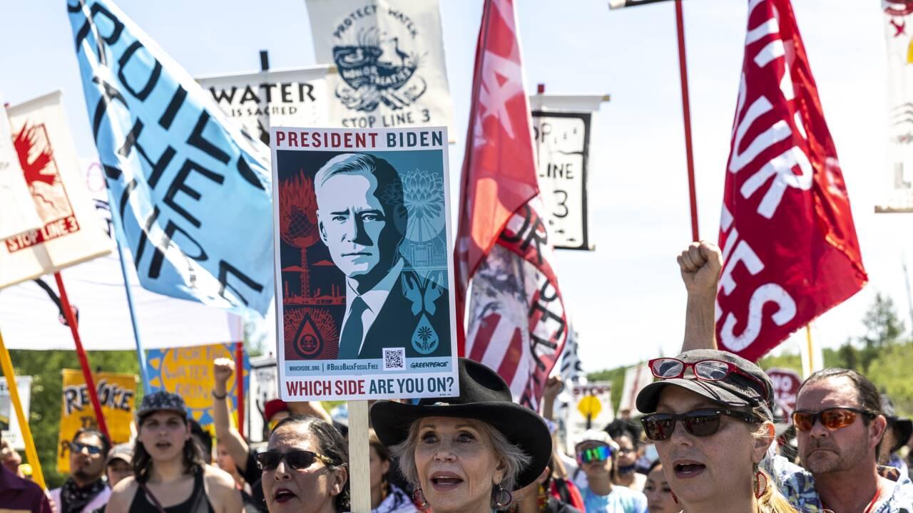 Le chantier d'un oléoduc controversé brièvement bloqué aux Etats-Unis
