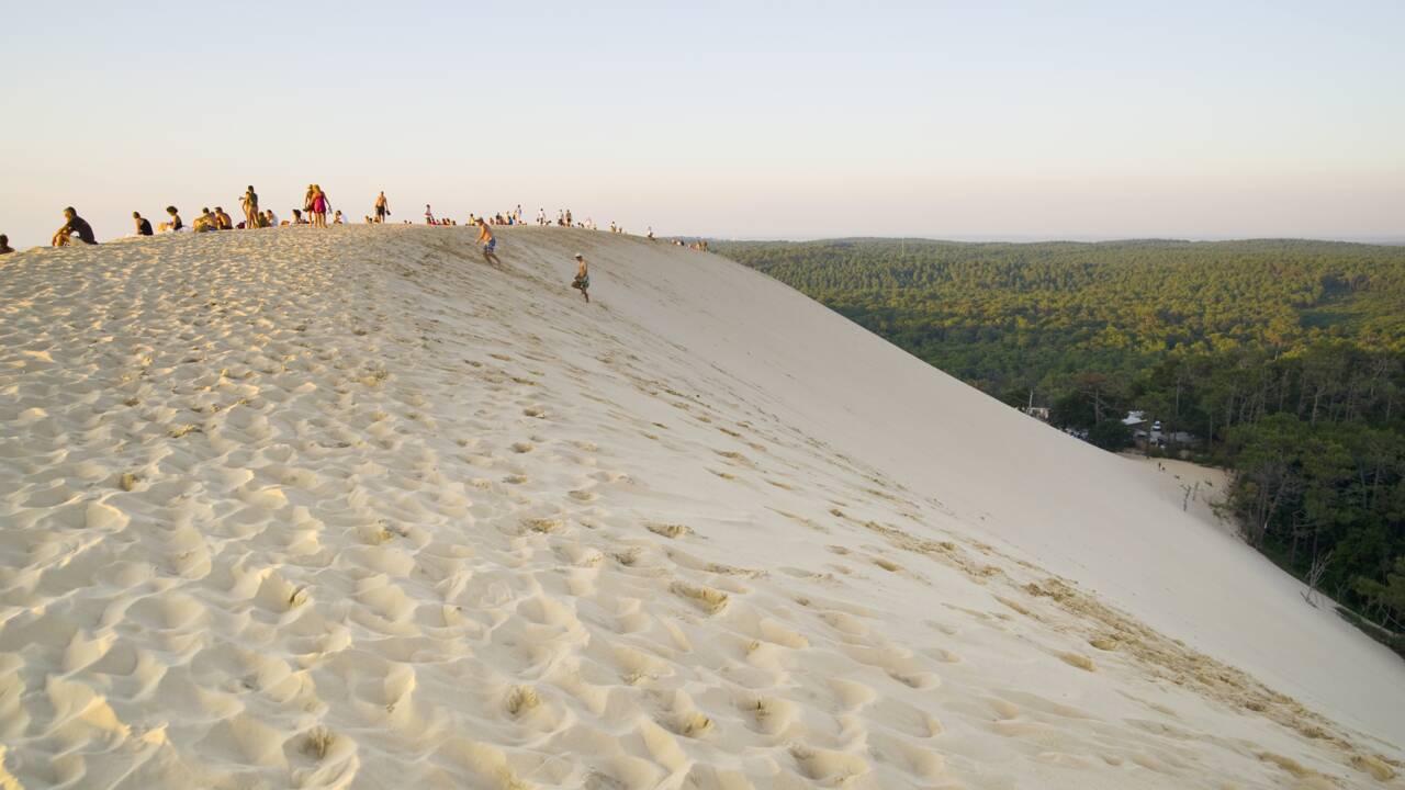 Dune du Pilat : une voie réservée aux bus bientôt aménagée pour désengorger l'accès