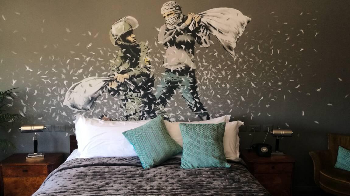 Un hôtel-musée Banksy ouvre ses portes à Paris