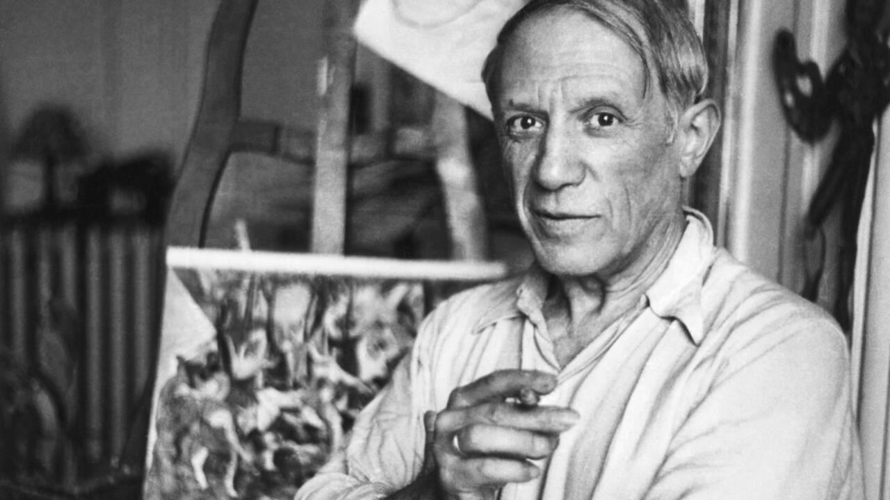 Une oeuvre originale de Picasso exposée dans un supermarché de l'Essonne