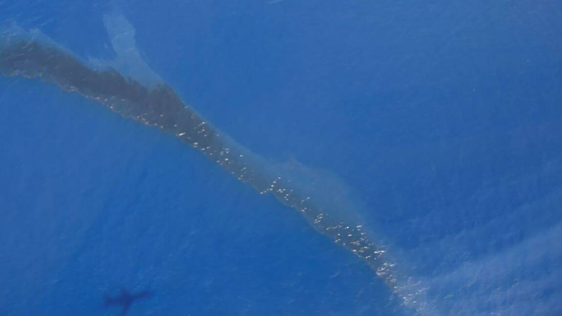 Pollution maritime au large de la Corse, le plan Polmar terre activé