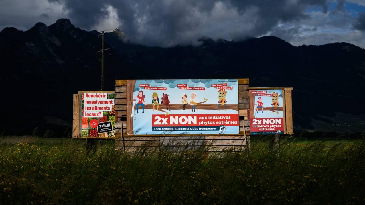 Les Suisses refusent d'interdire les pesticides de synthèse