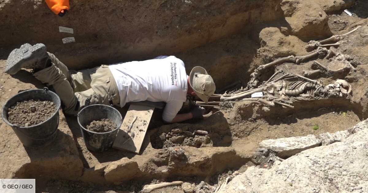 Etape par étape, découvrez comment travaillent les archéologues sur un chantier de fouilles