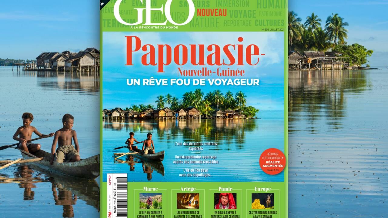 Rêve fou des voyageurs, la Papouasie-Nouvelle-Guinée au sommaire du nouveau numéro de GEO