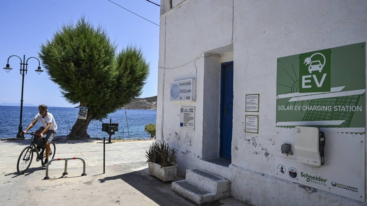 """Quand les petites îles """"vertes"""" de Grèce veulent donner l'exemple"""