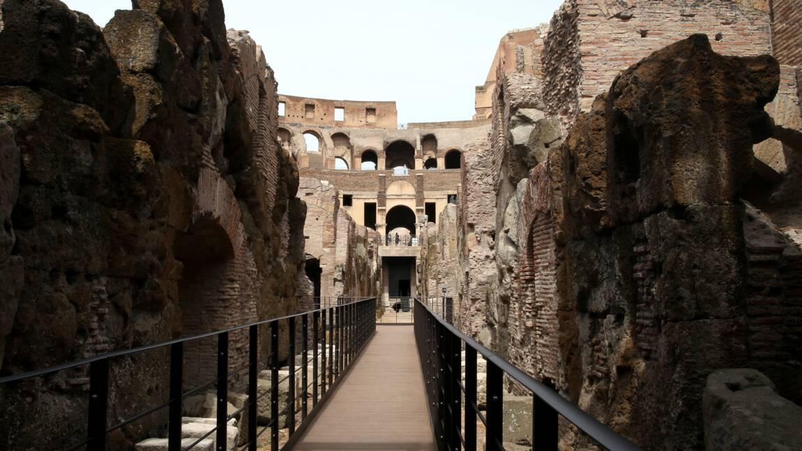 Ouverture des souterrains du Colisée, antichambre de la mort pour lions et gladiateurs