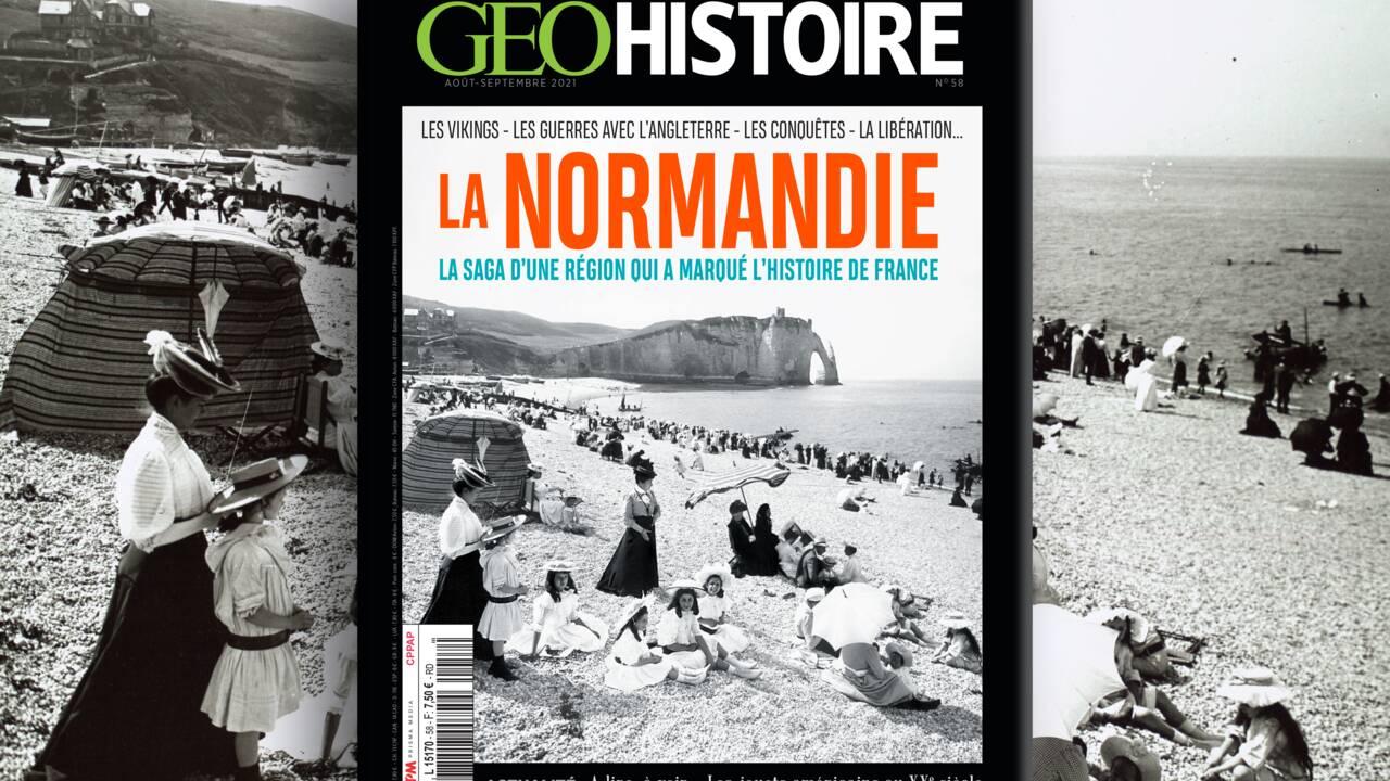 Les Vikings, les conquêtes, la Libération... La saga de la Normandie au sommaire du nouveau numéro de GEO Histoire