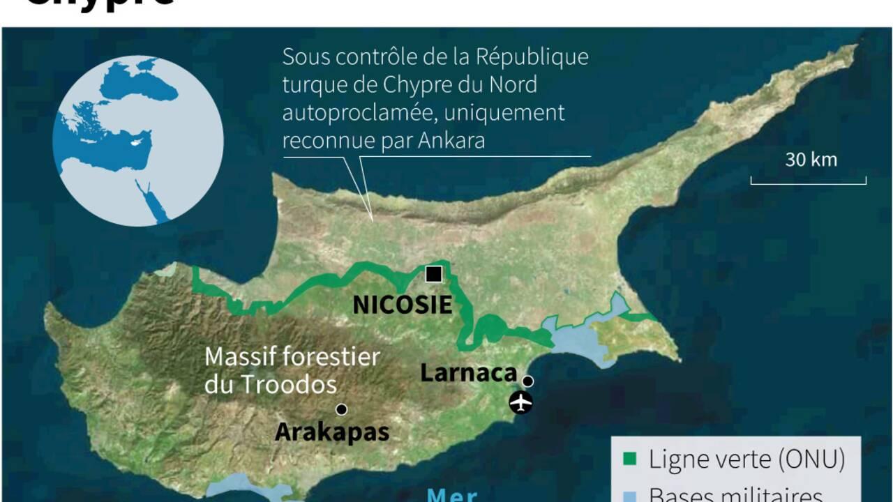 Quatre morts dans un incendie de forêt à Chypre, le pire depuis des décennies